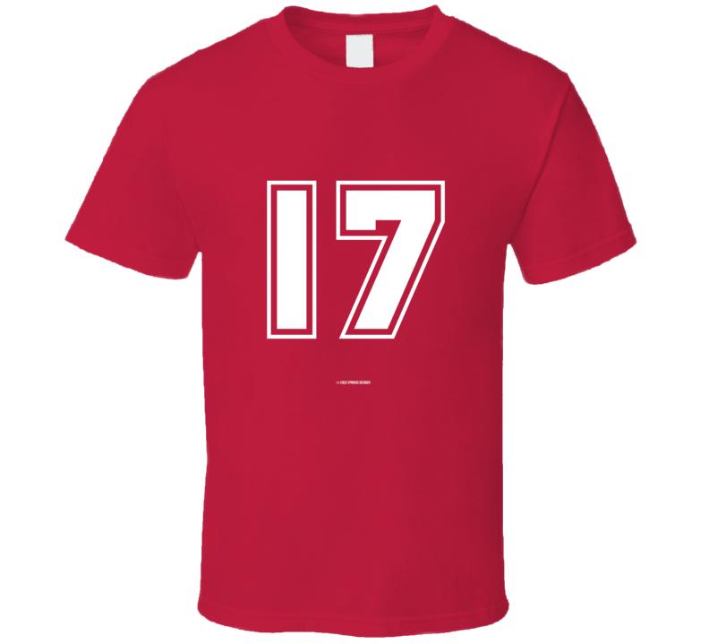 17 Q Patriot  T Shirt