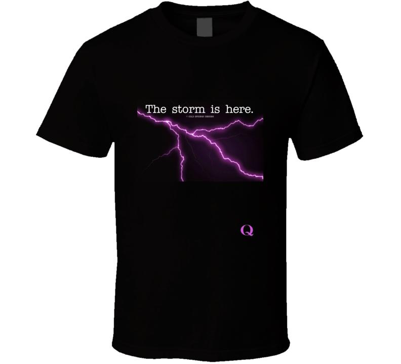 The Storm Is Here Lightning Gift Thunder  T Shirt