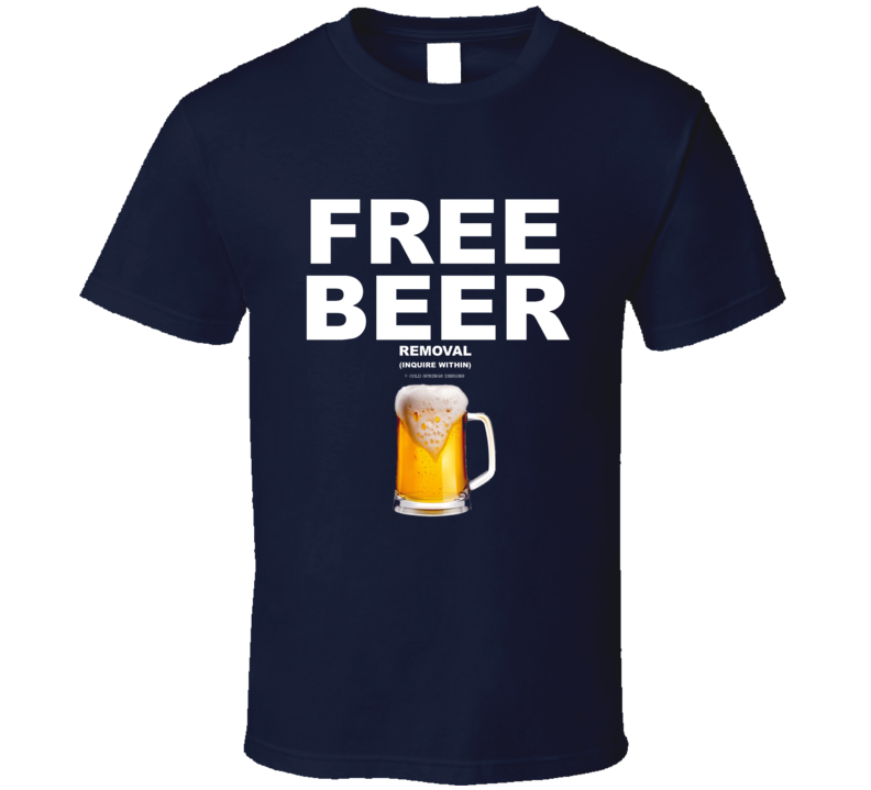 Free Beer Inquire Within Mug Funny Gift Drinking T Shirt