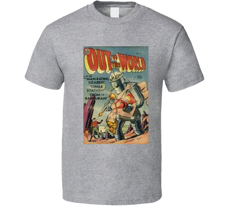 Out Of This World Comic Book T Shirt