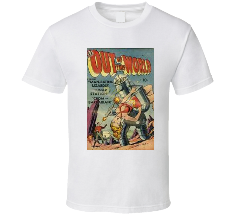 Out Of This World Comics T Shirt