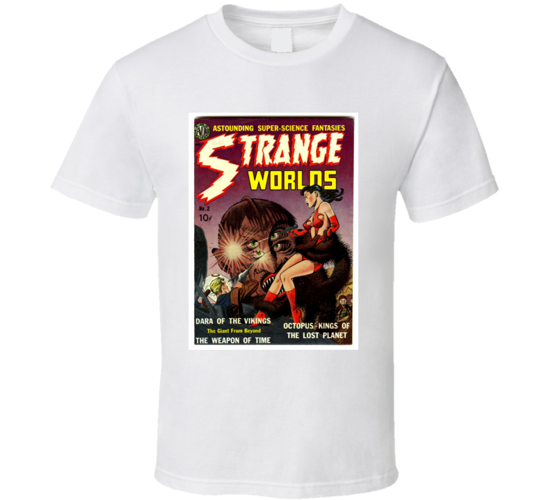 Strange Worlds T Shirt