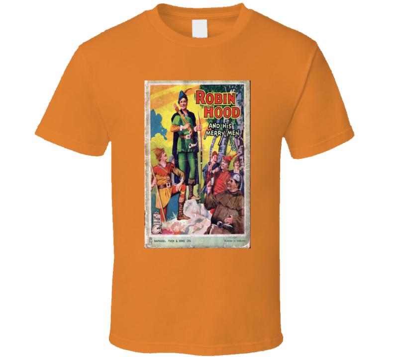 Robin Hood And His Merry Men Alstyle Apparel Men's Orange T-shirt