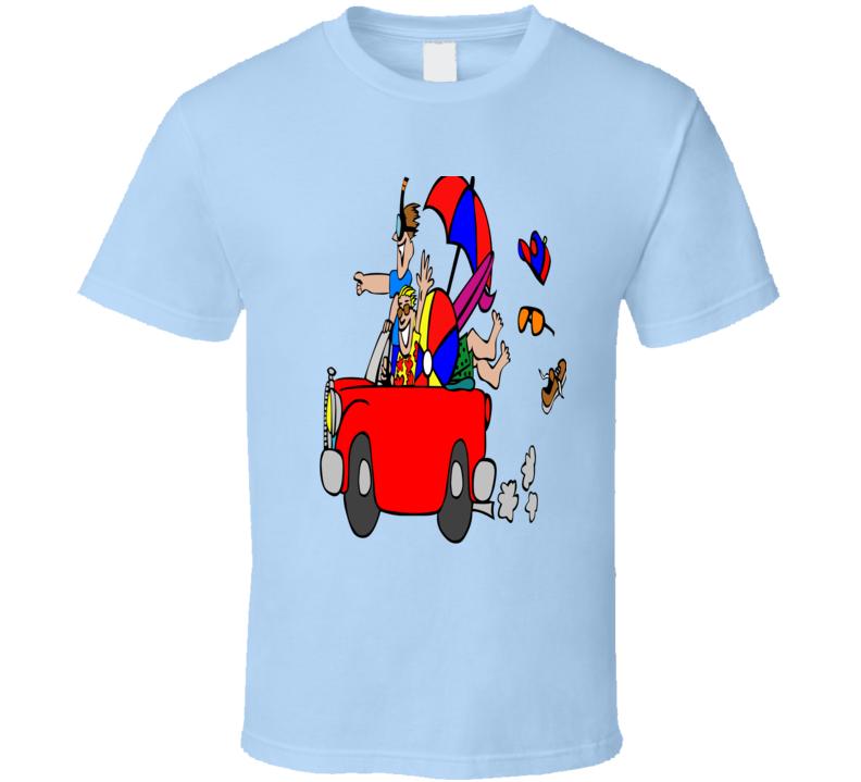 Beach Party Men's T-shirt  Light Blue Alstyle Apparel