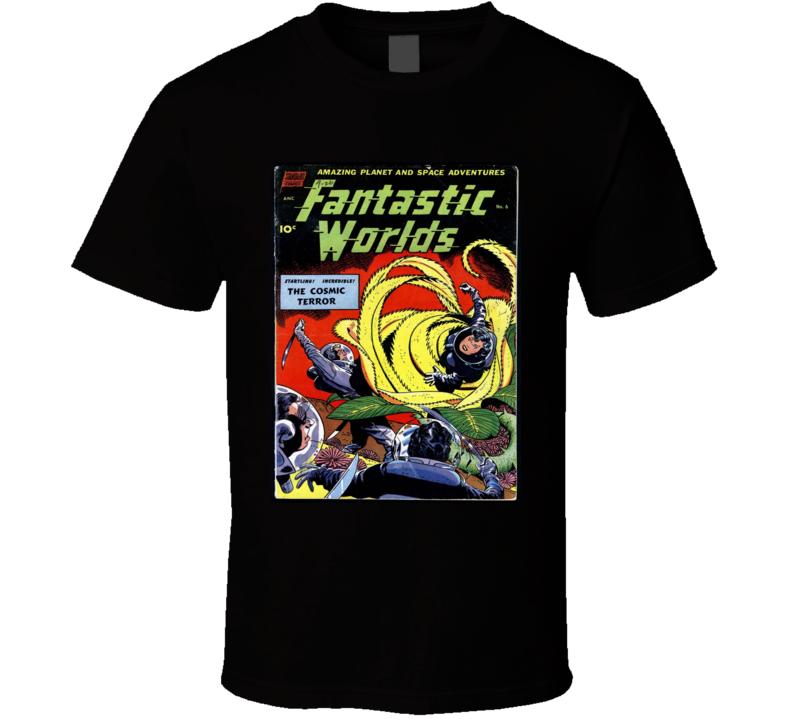 Fantastic Worlds Comic Book Cover #6 1952 T-shirt