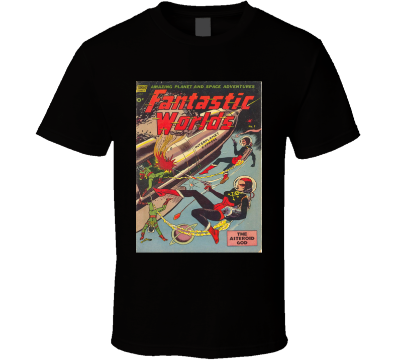 Fantastic Worlds Comic Book Cover #7 1952 T-shirt