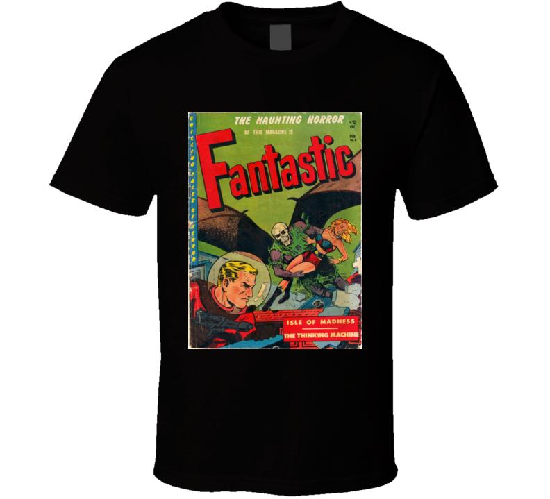 Fantastic Comic Book Cover # 8 1952 T-shirt