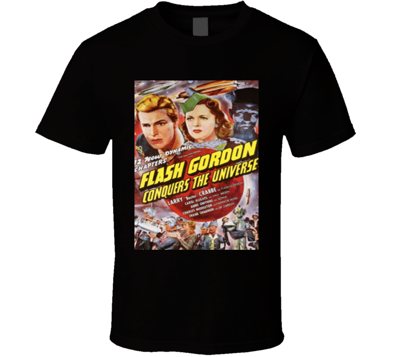 Flash Gordon Conquers The Universe 1940 T-shirt