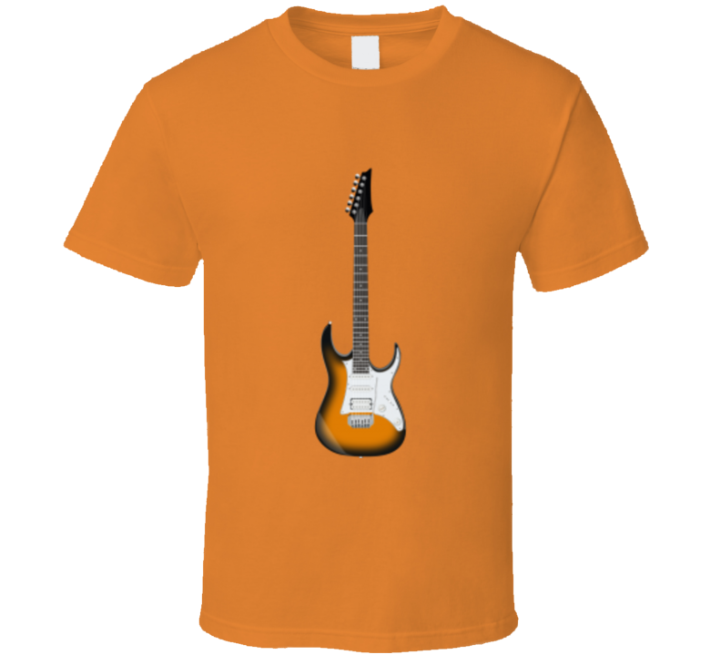 Electric Guitar Graphic T Shirt