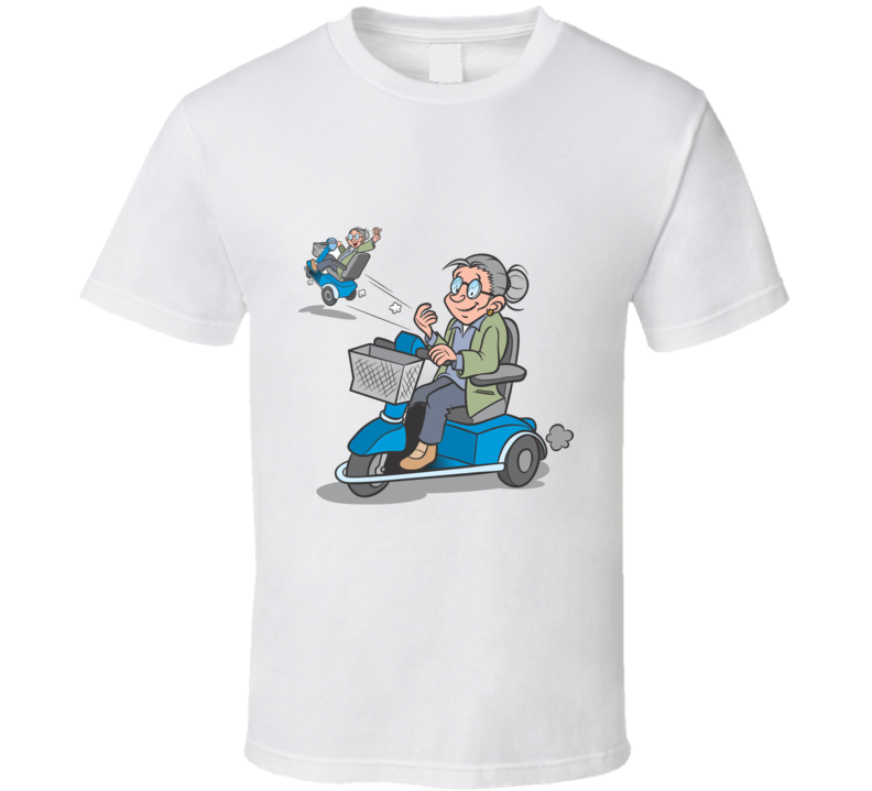 Granny Graphic Print T-shirt