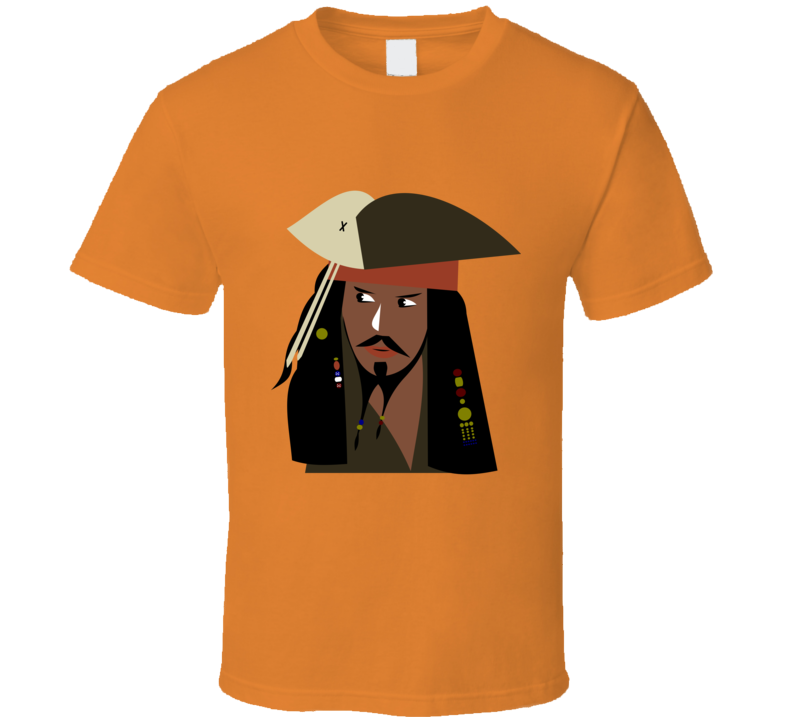 Captain Jack Graphic Print T Shirt