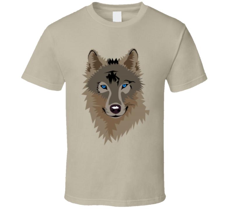 Wolf Graphic Print T Shirt