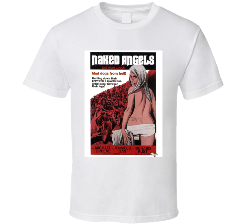 Naked Angels T Shirt Movie Poster