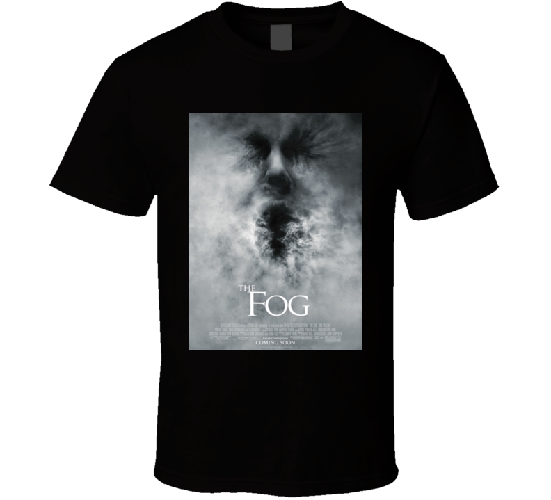 The Fog Vintage Movie Poster T Shirt Black