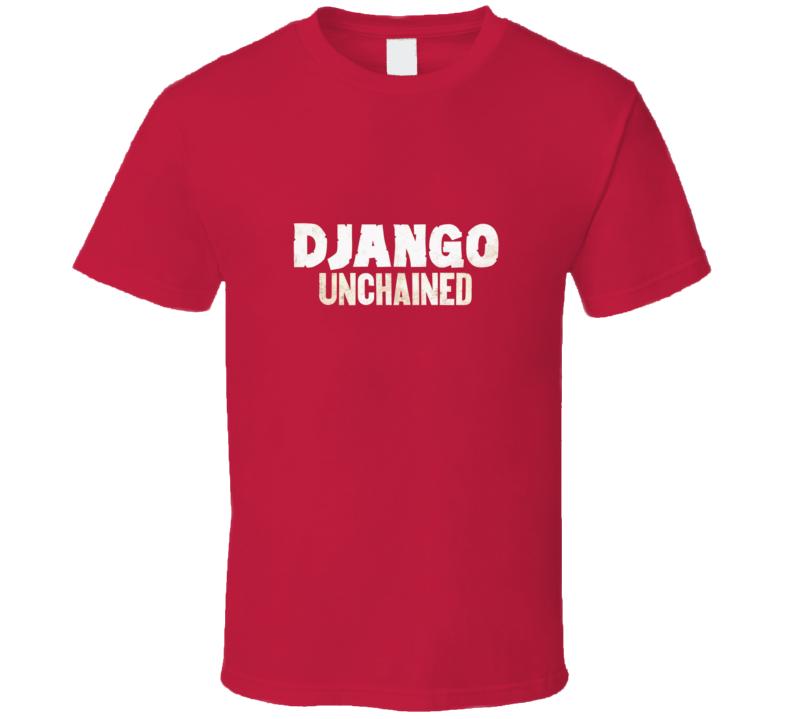 Django Unchained Quentin Tarantino Movie Logo T Shirt