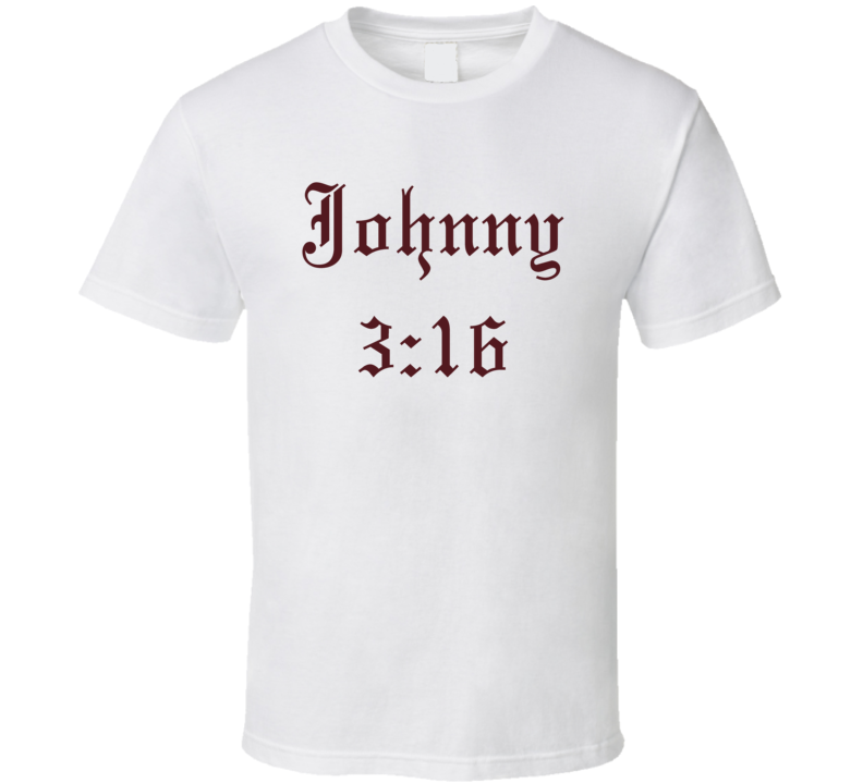johnny 316 football heisman t shirt
