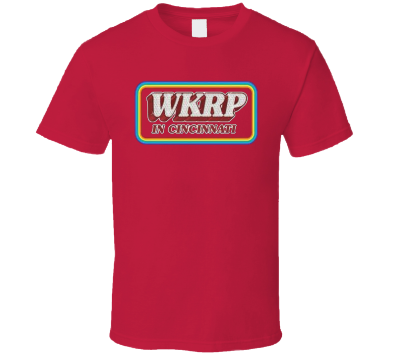 WKRP in Cincinnati Logo T-Shirt