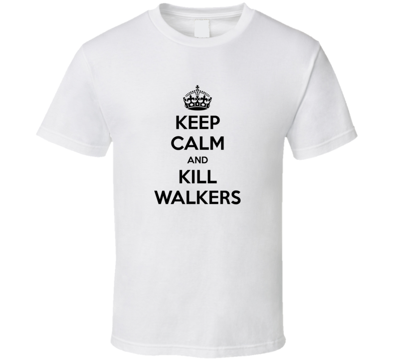 Walking Dead Keep Calm and Kill Walkers T-Shirt