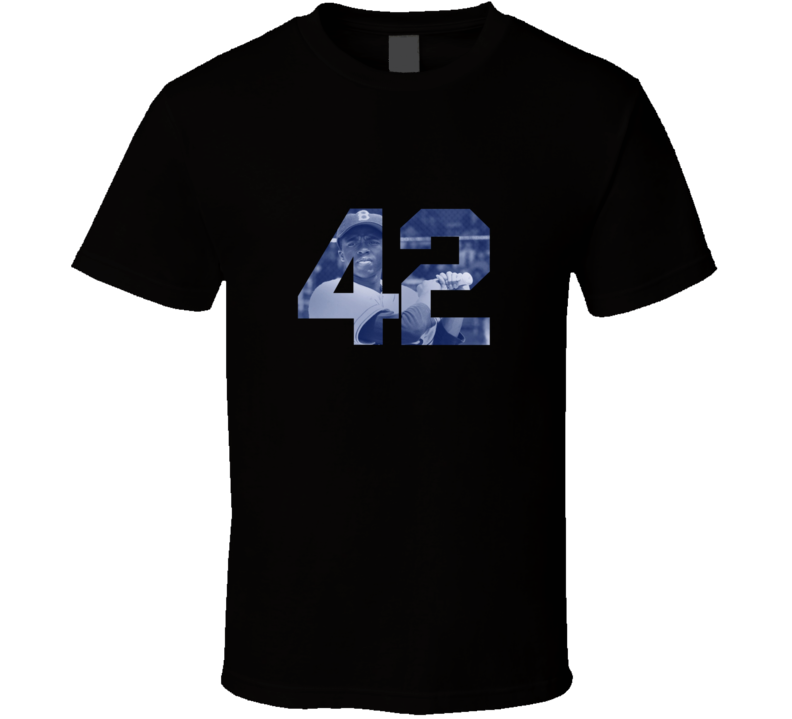 42 Movie Jackie Robinson T Shirt