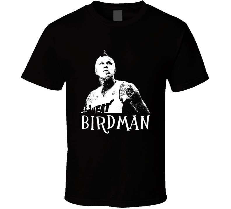 Chris Andersen Birdman Basketball Image T Shirt