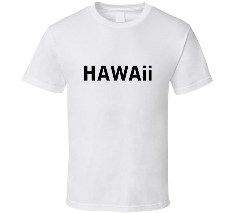 Christina Perri Hawaii Crop Vest  style T Shirt