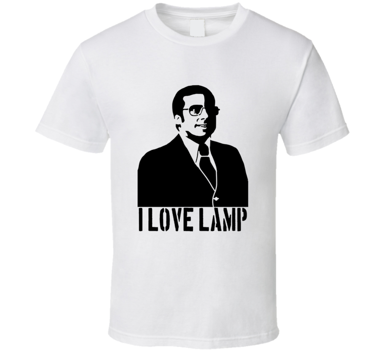 Brick Tamland Anchorman I love Lamp T Shirt