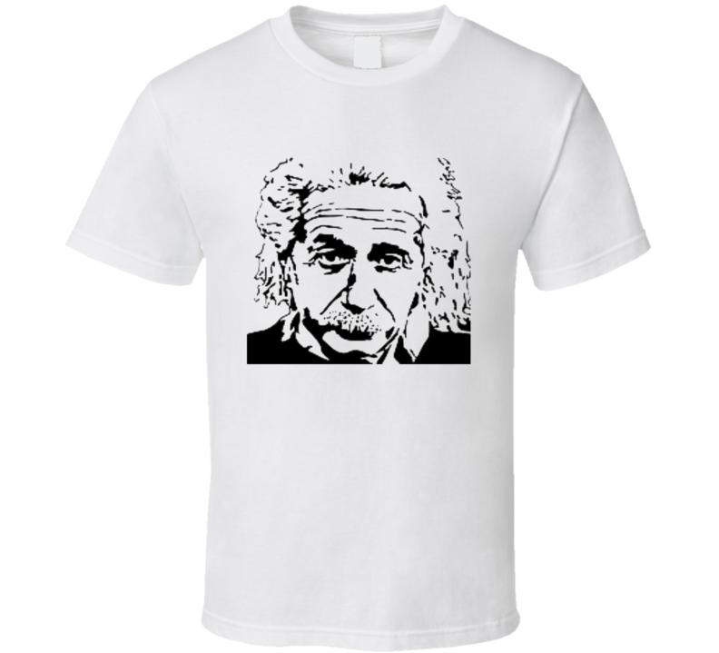 Einstein image T shirt