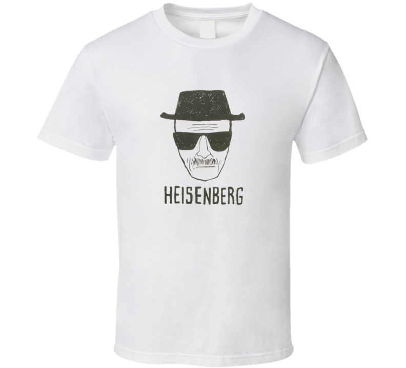 Breaking Bad Heisenberg Sketch T Shirt