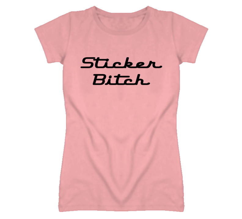 The League Season 5 Episode 1 Draft Sticker Bitch Pink T Shirt