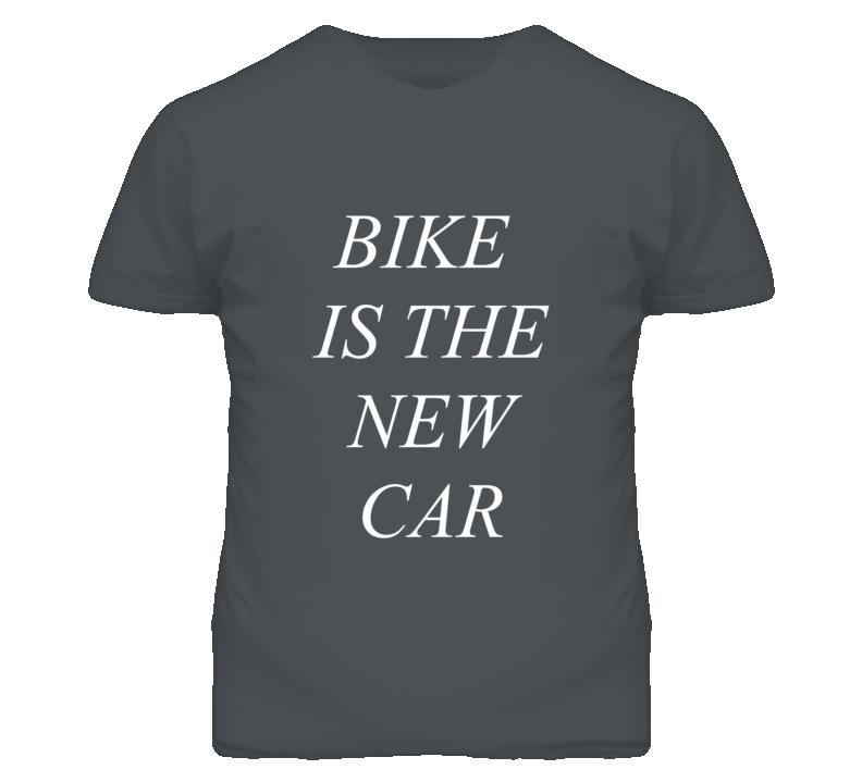 Aston Kutcher Bike is the new car T Shirt