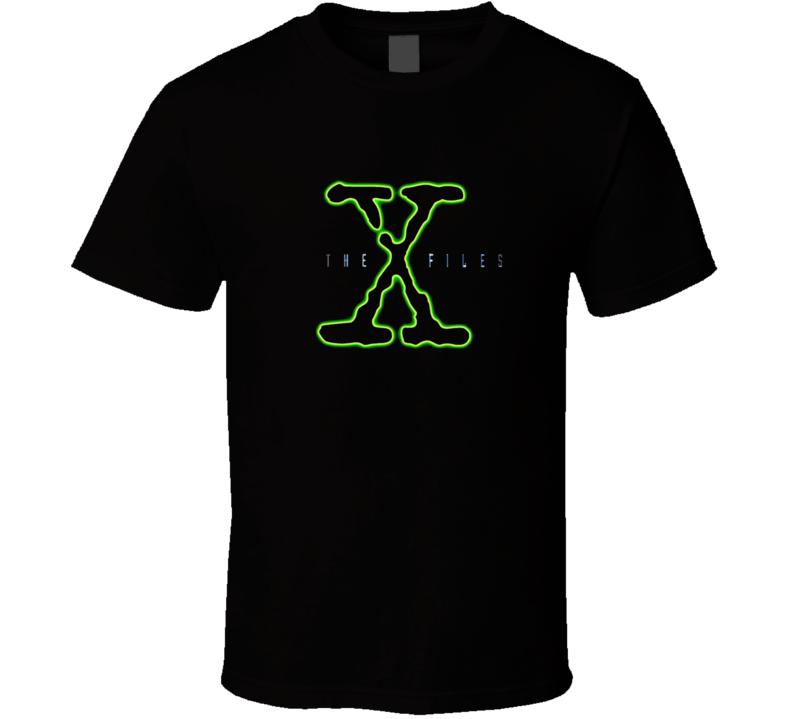 The X Files Logo T Shirt