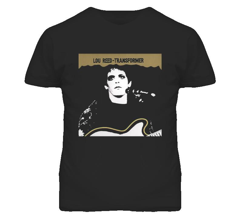 Kirk Hammett Grammy Awards Lou Reed Transformer Image T shirt