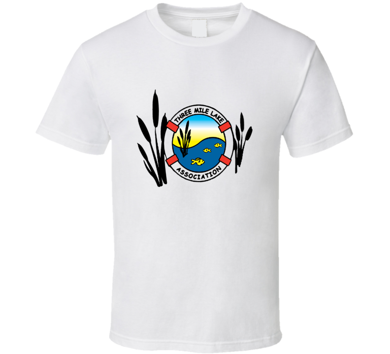 Three Mile Lake Association Logo T Shirt