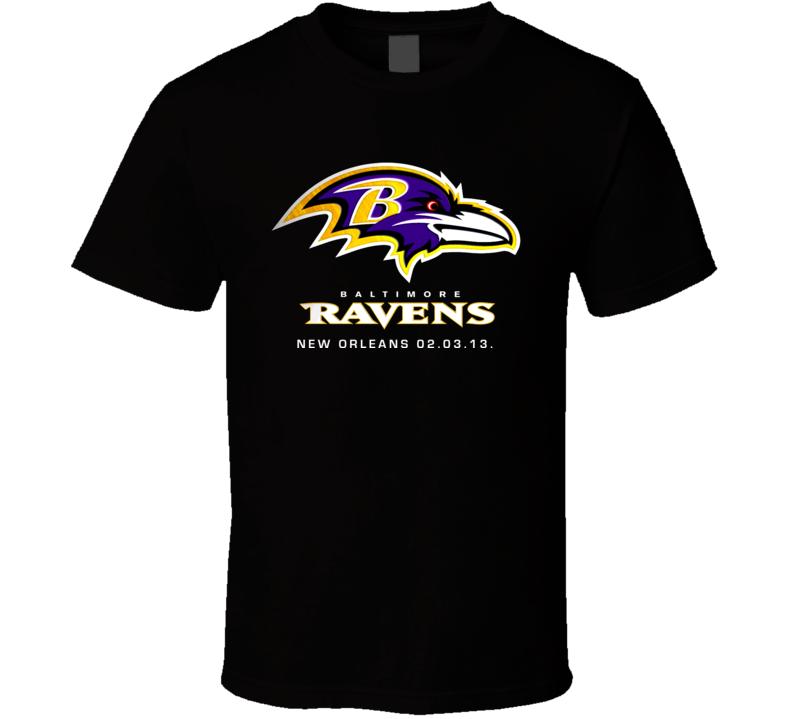 Baltimore football XLVII Champions T Shirt