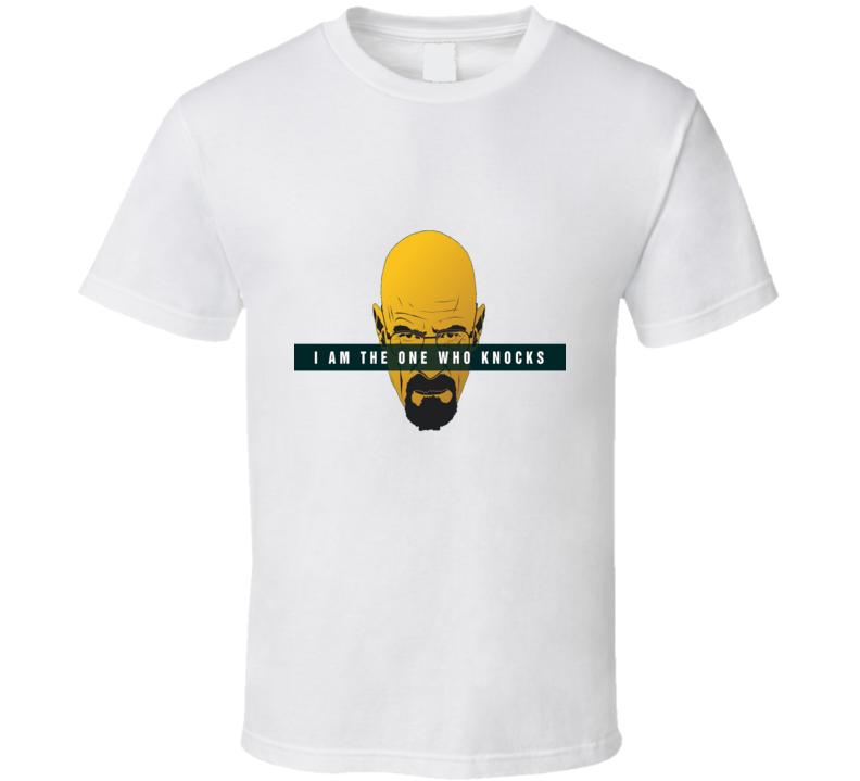Walter White I am the one who knocks image T Shirt