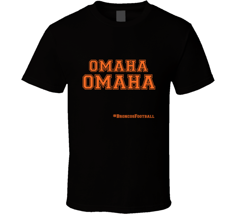 Peyton Manning Omaha Audible T Shirt