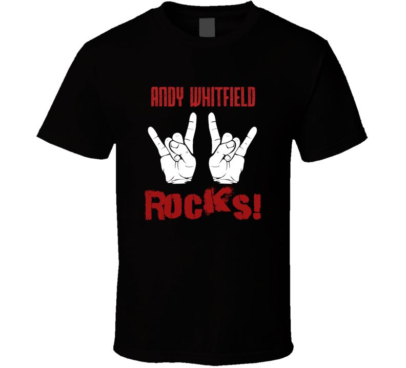 Andy Whitfield  ROCKS T shirt
