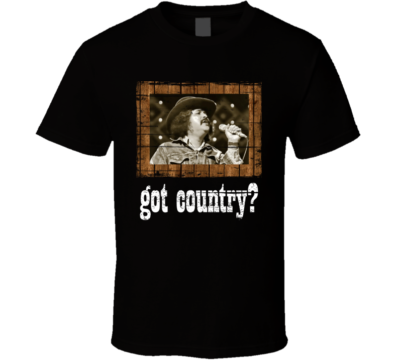 Freddy Fender Got Country Distressed Image T Shirt