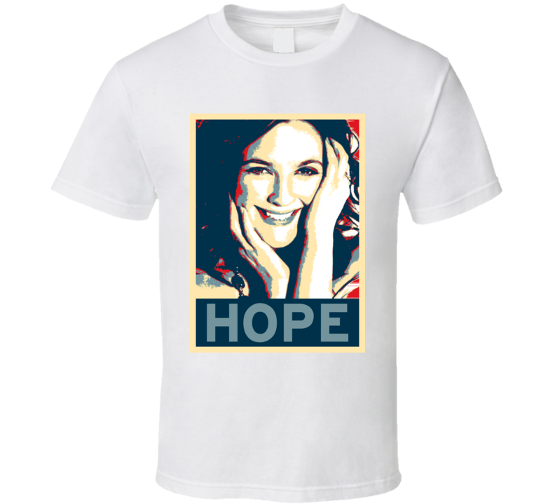 Drew Barrymore HOPE poster T Shirt