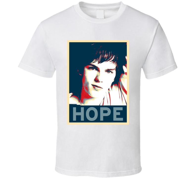 Nicholas Hoult HOPE poster T Shirt