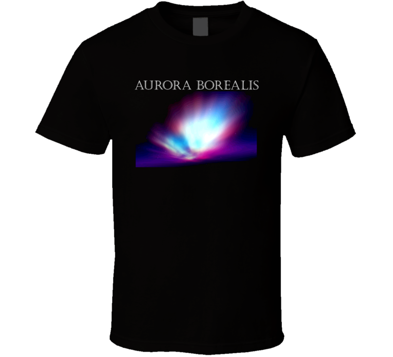 Aurora Borealis Northern Lights T Shirt