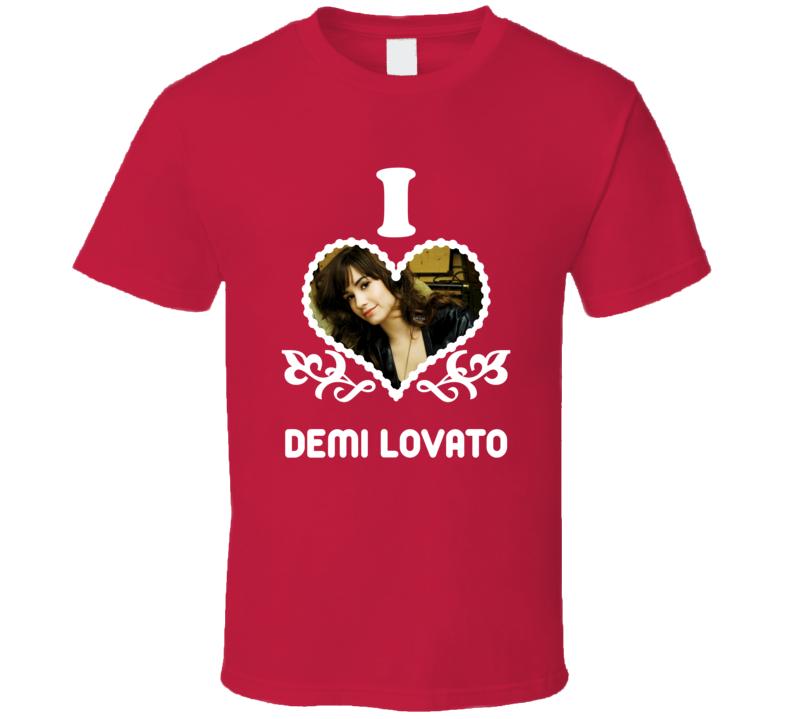 Demi Lovato I Heart Hot T Shirt