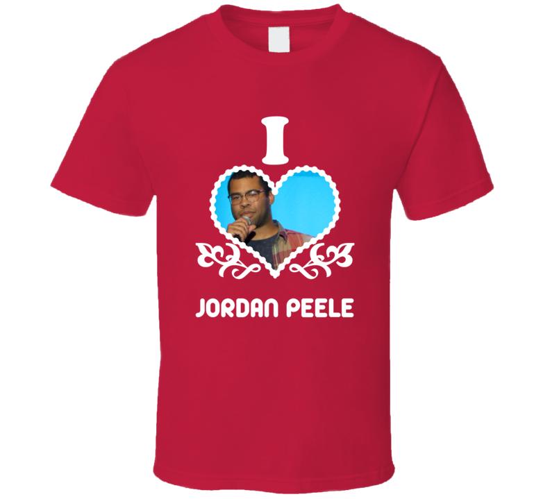Jordan Peele I Heart Hot T Shirt