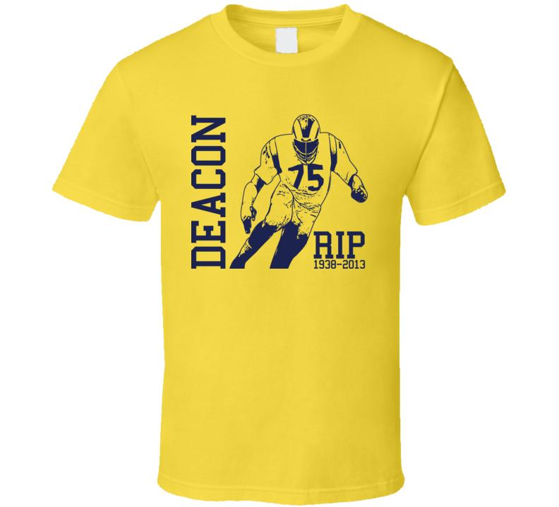 Deacon Jones Image RIP T Shirt
