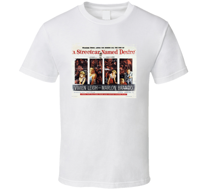A streetcar named desire Classic Movie Poster Aged Look T Shirt
