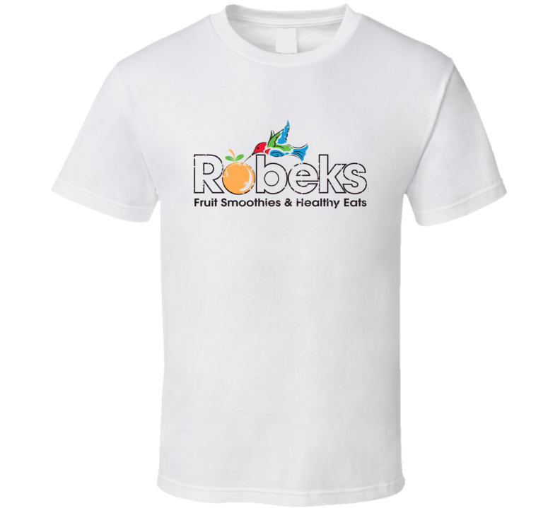Robeks Fast Food Restaurant Distressed Look T Shirt