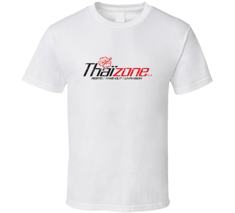 Thaizone Fast Food Restaurant Distressed Look T Shirt