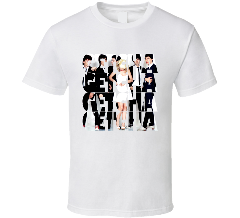 Blondie Getcha Getcha band Image T Shirt2