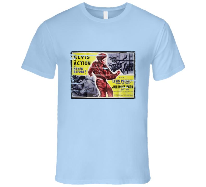 Elvis Jailhouse Rock distressed look T Shirt