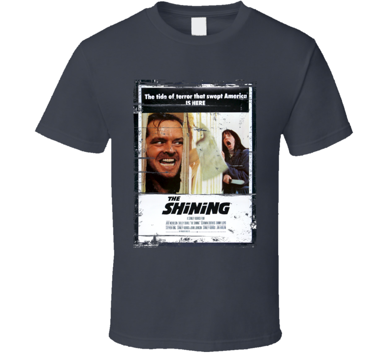 The Shining movie distressed look T Shirt